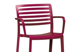 Crate & Barrel's Pink Chair